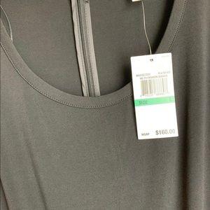 Mk black mesh sleeve jumpsuit